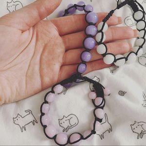 Jewelry - 🎁🎄Bead bracelets! 3/15$💜